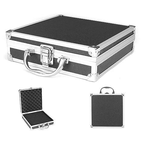 Aluminio Caja de Herramientas Portátil Seguridad Equipo Instrumento Estuche Maleta Multifunción Perfil Caja Herramientas Hardware Herramienta Funda ...