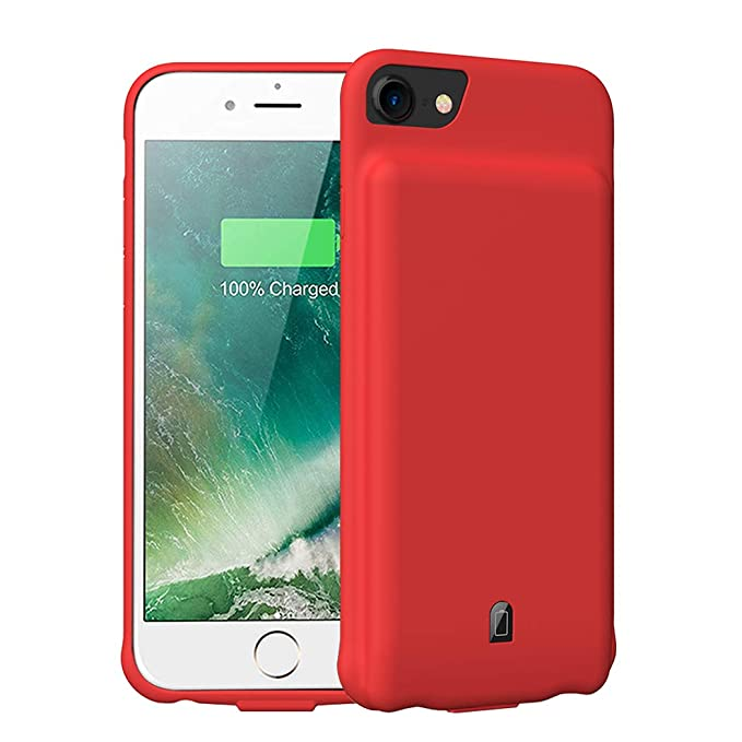 meet c3fce 0809c Battery Case for iPhone 6/6s/7/8,4500mAh Portable Protective Charging Case  Compatible with iPhone 6/6s/7/8 (4.7 inch) Rechargeable Extended Battery ...