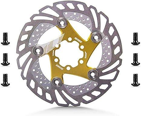 Rotor de disco flotante, Disco de freno de disco flotante 6 pernos de aleación de aluminio