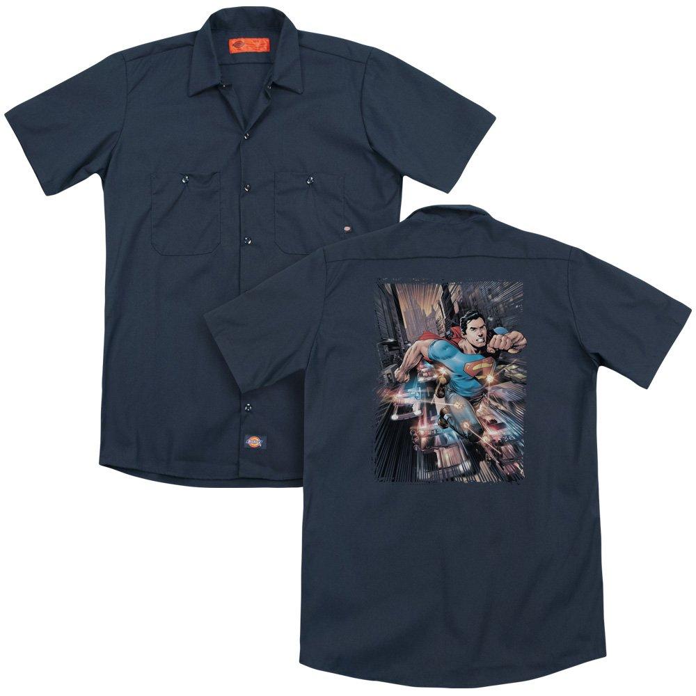 Superman Action Comics #1 Adult Work Shirt