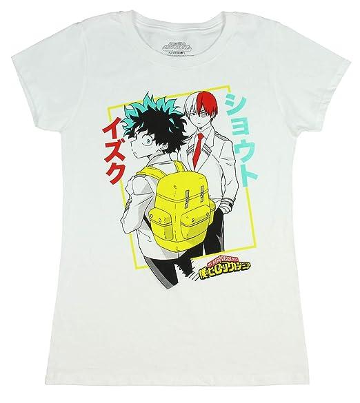 42a89e0f5e0 My Hero Academia Shirt - Juniors Izuku Midoriya Deku and Shoto Todoroki T- Shirt