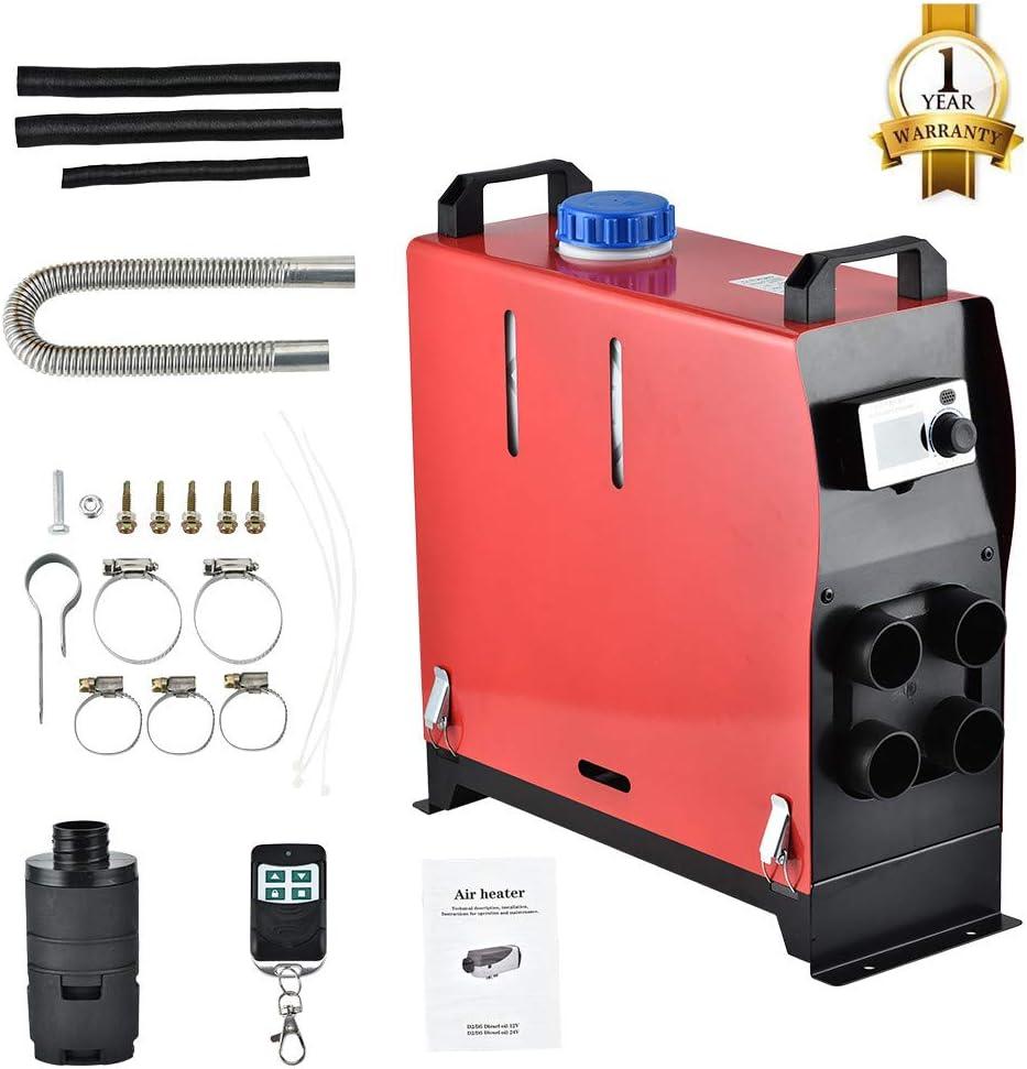 ETE ETMATE MATE Car Fuel Diesel Calentador de aire forzado (4 agujeros 5KW 12V)