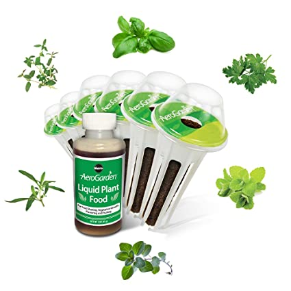 High Quality AeroGarden Italian Herb Seed Pod Kit (6 Pod)