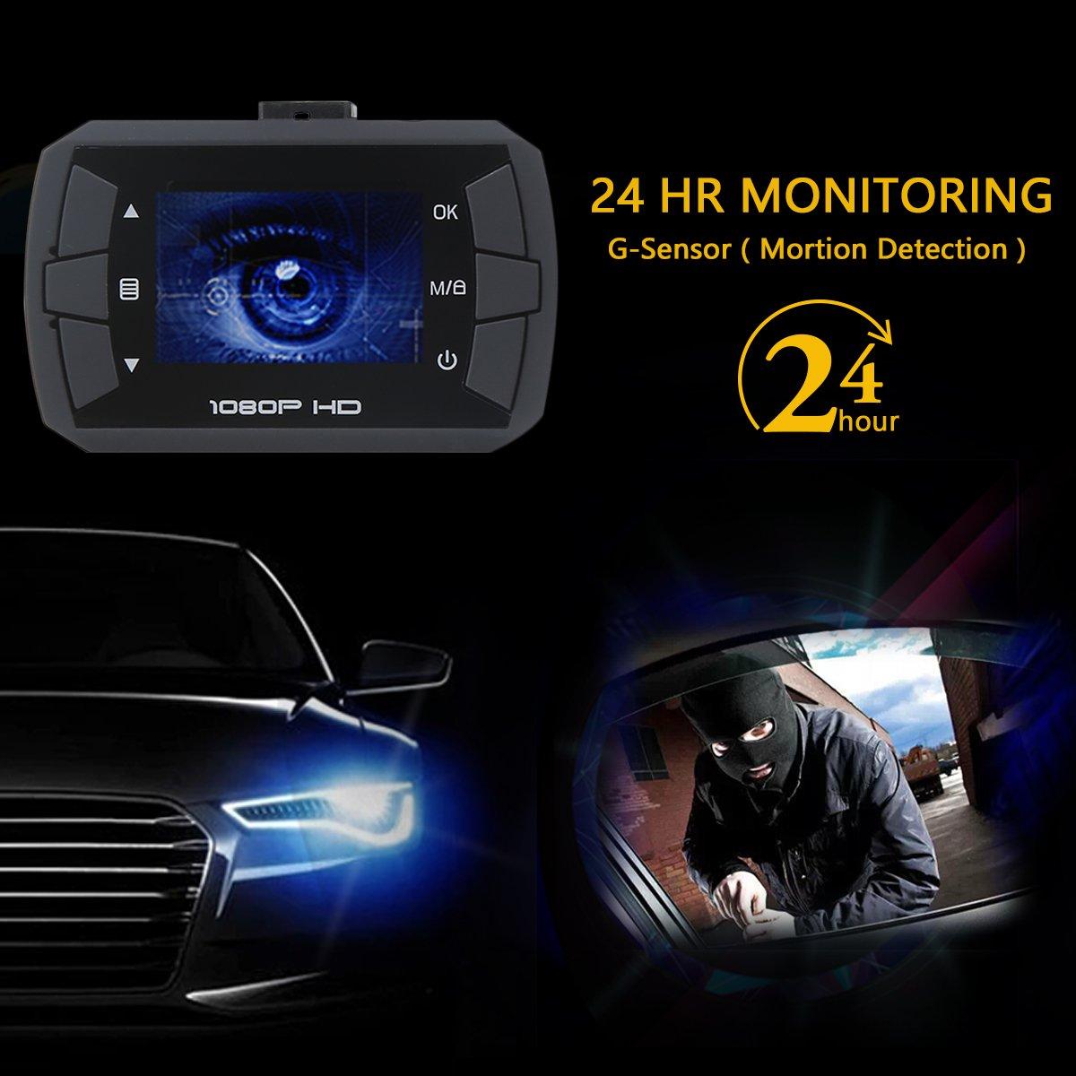 Armaturenbrett auto  Auto kamera, Full HD 1080P Träger-Auto-DVR mit: Amazon.de: Elektronik