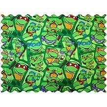 SheetWorld Ninja Turtles Fabric - By The Yard - 101.6 cm (44 inches)