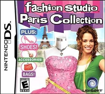 Amazon Com Fashion Studio Paris Nintendo Ds Video Games