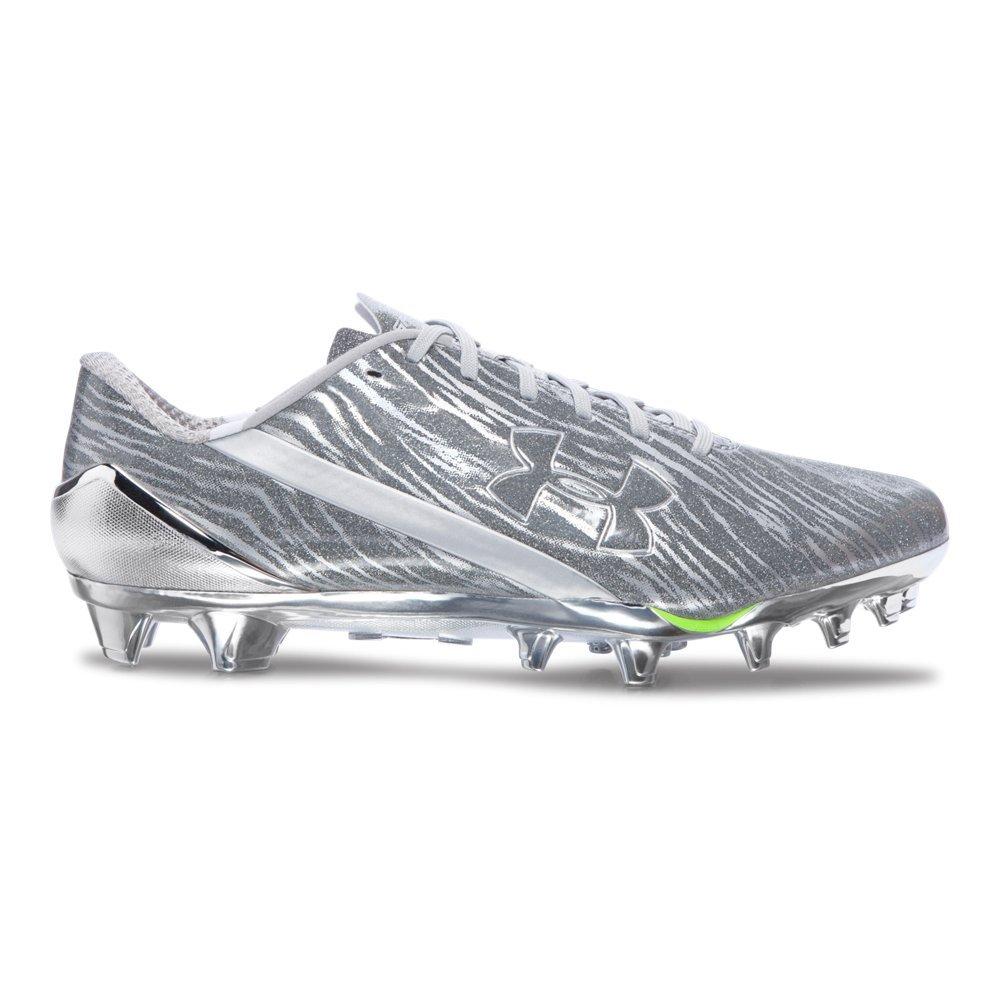 Under Armour American Football Cleat Footballschuhe Metallic Silver