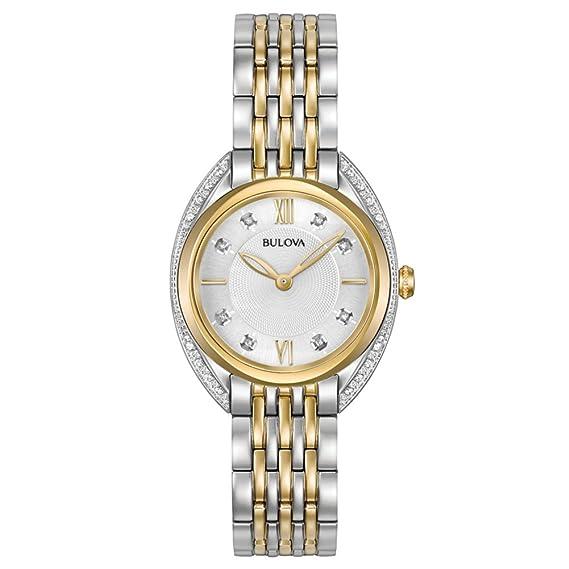 8aabc10d82fc Reloj - Bulova - para Mujer - 98R229  Amazon.es  Relojes
