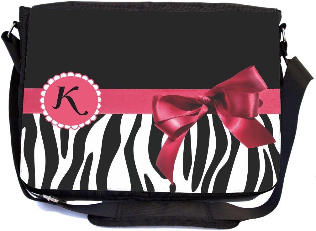 Padded Bodycross Messenger Carry Bag for Laptop Zebra