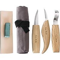 Cuchillo de Gancho de Talla de Madera