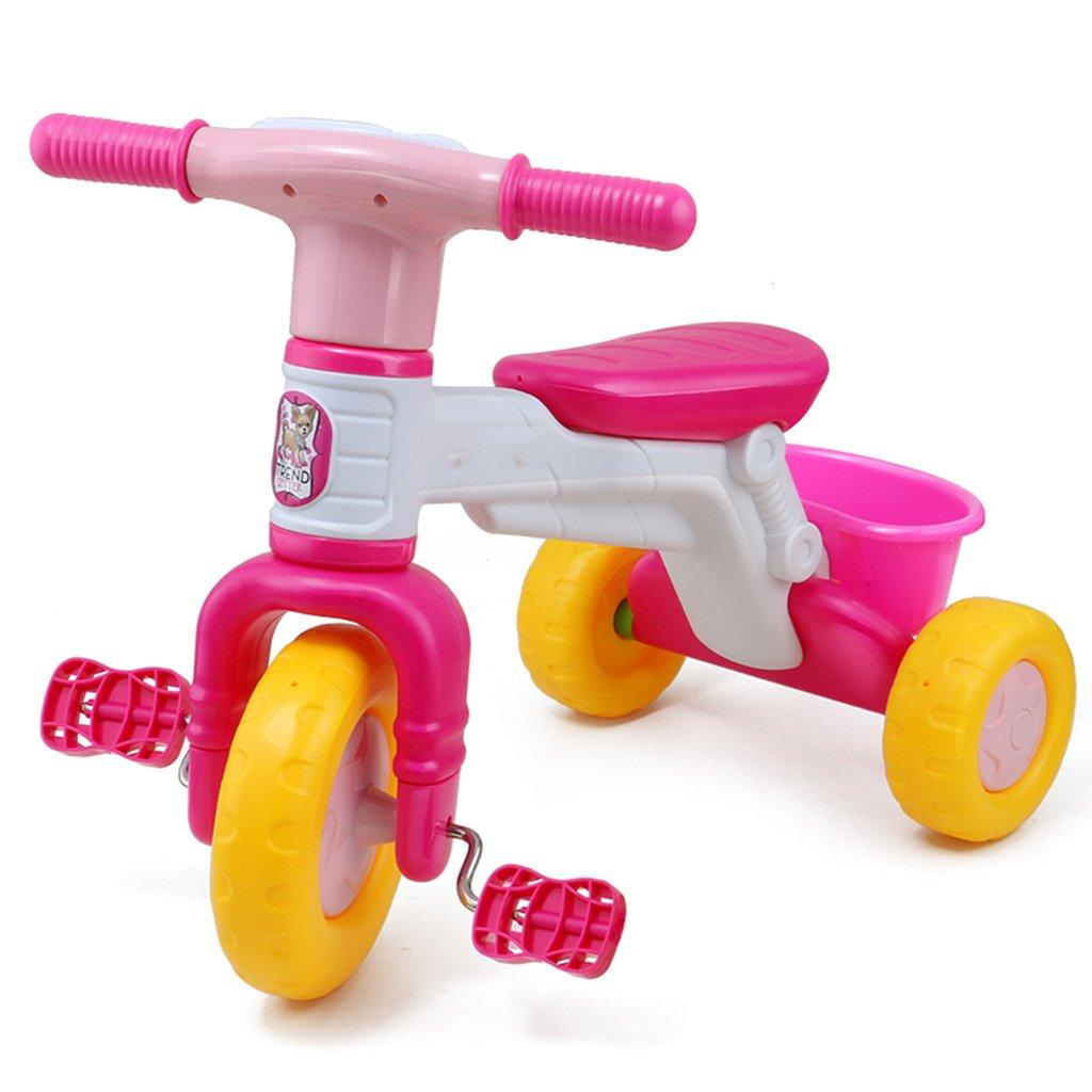 QWM-Baby Kinderfahrräder Kinder Pedal Tricycle Baby-Wanderer Baby-Balancing Scooter 1-5-Jahr-Geschenk Kindergeschenk-QWM