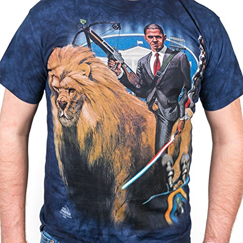 The Mountain President Obama T-Shirt - Small