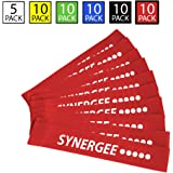 Synergee Exercise Fitness Resistance Band Mini Loop Bands That Perform Better When Working Out at Home or The Gym