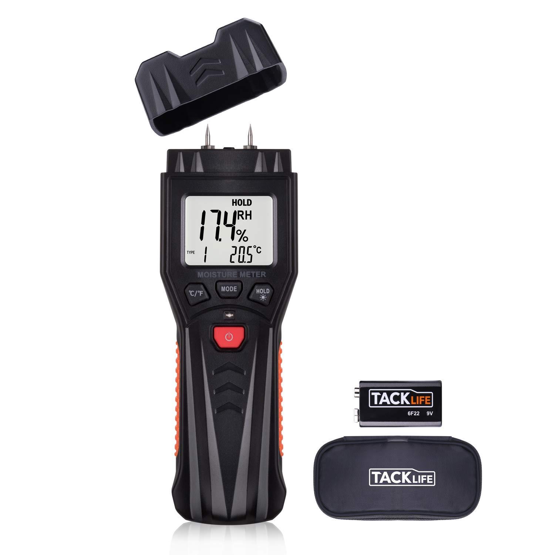 Stihl Holzfeuchtigkeitsmessgerät Messen von Brennholz .. LCD Anzeige Batterien