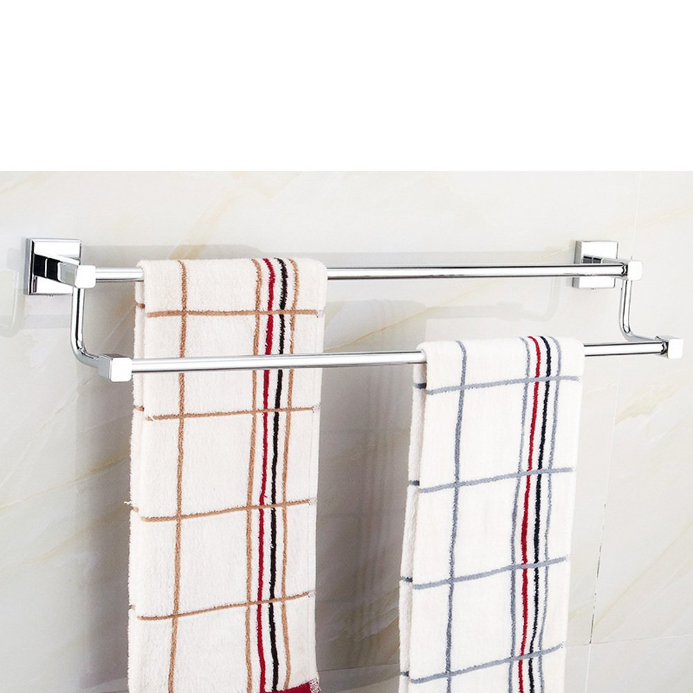 well-wreapped Bathroom hardware accessories/Towel rack with double layer/Towel Bar/Bathroom racks/Towel shelf -D