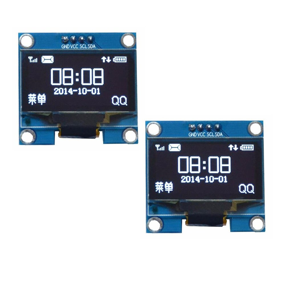 Diymore 0.95' Inch 7 Pin Colorful 65K SPI OLED Display Module SSD1331 9664 96X64 Resolution For Arduino 51 STM32