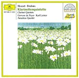 Brahms/Mozart: Clarinet Quintets