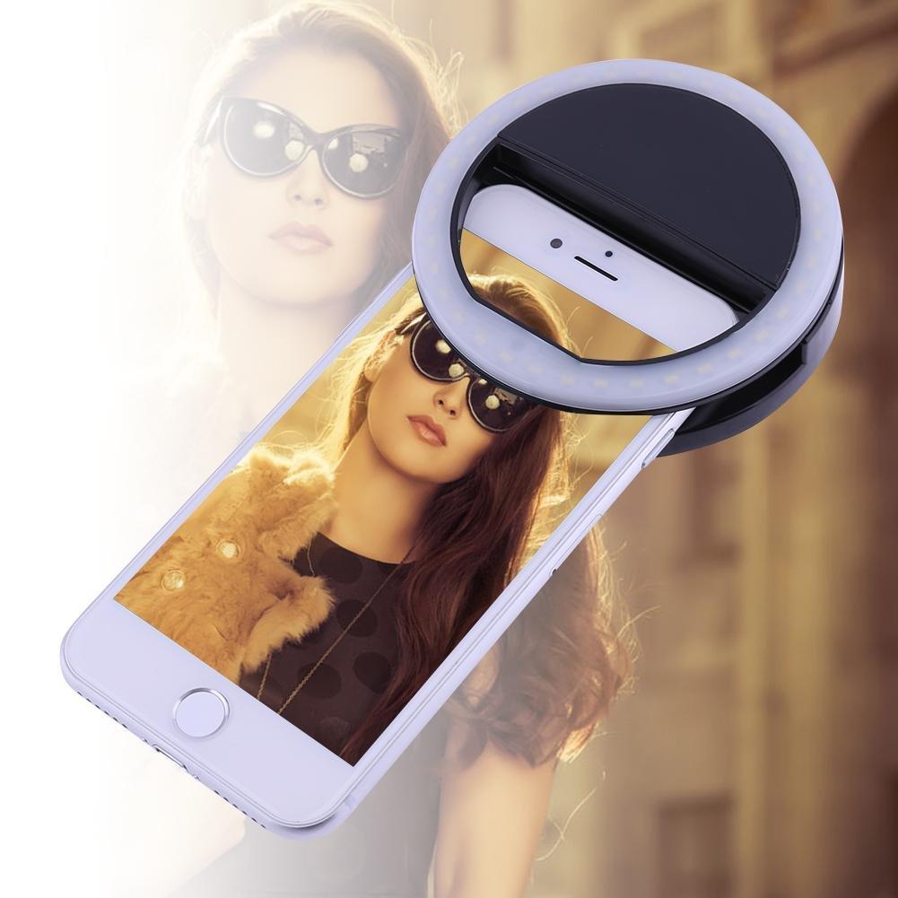 Everpert Flash /à LED portable pour photos selfies