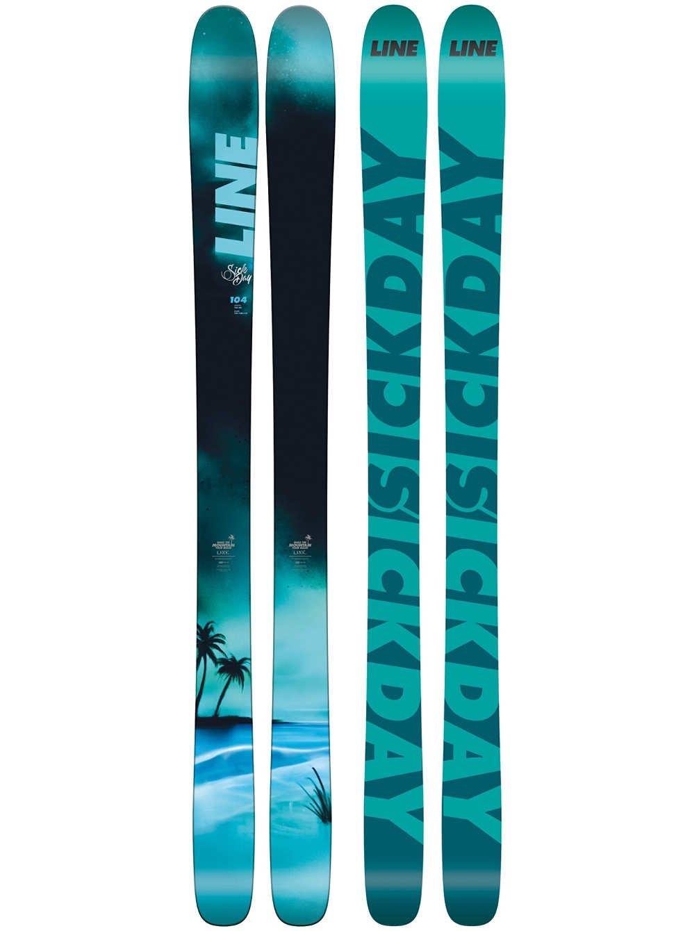 Line Sick Day 104 Skis Mens Sz 172cm