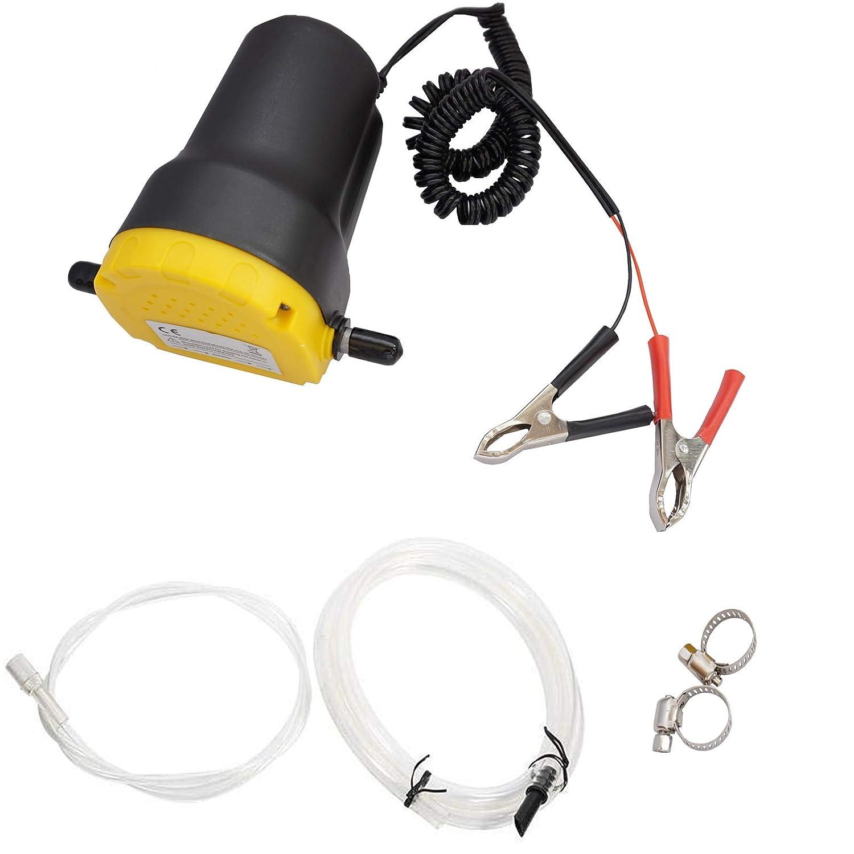 Pompa di estrazione dellolio e fluidi Trasferimento Olio Motore Pompa dellolio 12V per auto e moto Twowinds
