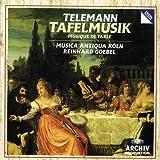 : Telemann: Tafelmusik (Musique de Table partagée en Trois Productions)