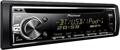 Pioneer DEH-X5800BT - Radio CD con sintonizador RDS, Bluetooth, entrada auxiliar y USB: Amazon.es: Electrónica