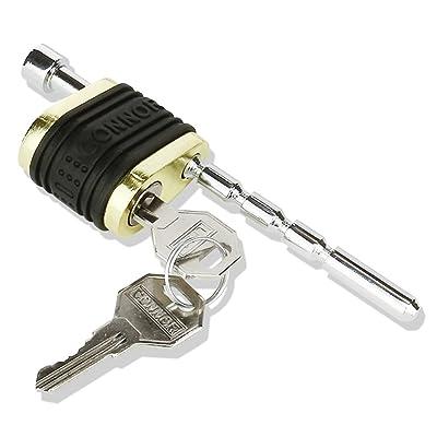 Connor Adjustable Trailer Lock - Brass Coupler Lock 1615230: Automotive