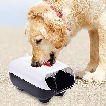 iBàste 2.5L Unicornio en Forma de dispensador de Agua Inteligente para Mascotas Suministros para Mascotas