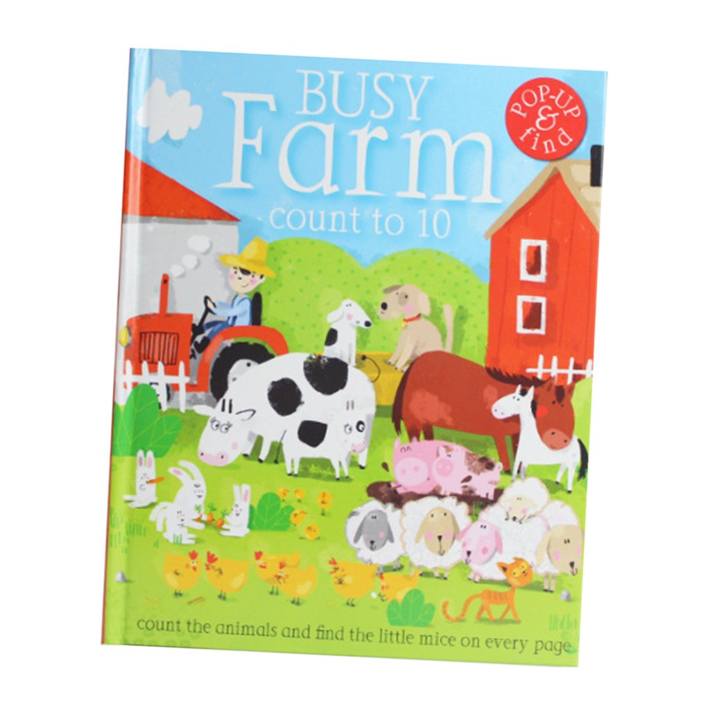 Fityle 3D Pop Up Books for Kids Boys Girls (Story Book, Baby Book, Children's Book) - A busy farm by Fityle (Image #7)