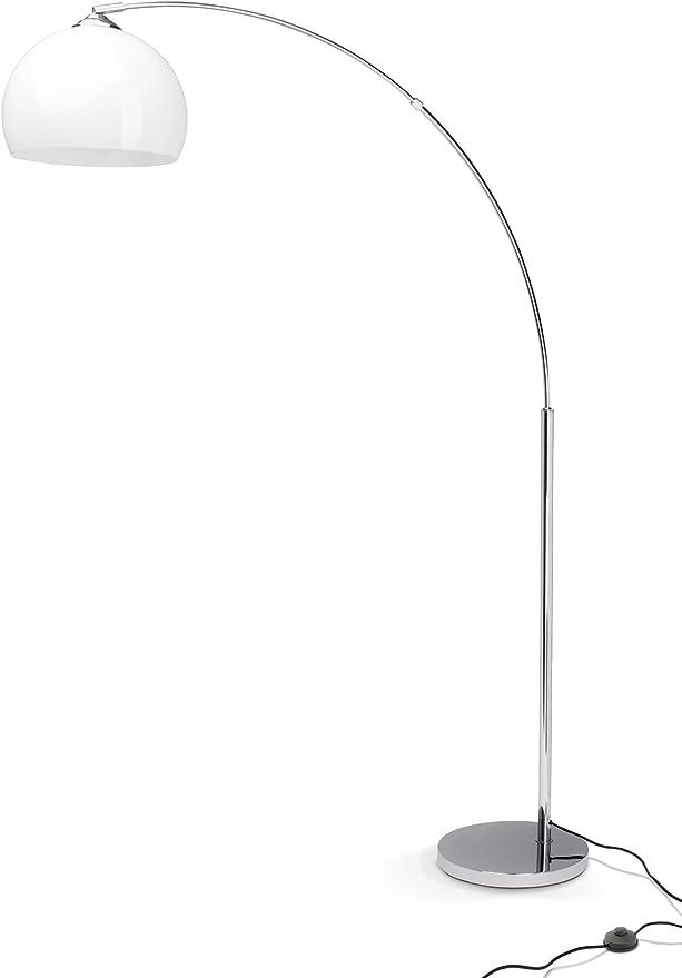 Brilliant 92940/75 Vessa - Lámpara de pie (bombilla E27, máx. 60 W ...