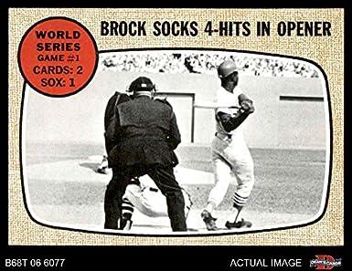 1968 Topps 151 1967 World Series