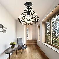 Lámpara de techo Retro Colgante Iluminación Industrial Moderna