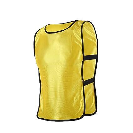 32de2d73a Practice Scrimmage Vest Waistcoat Jacket Jersey Children Kids Youth   Adult  Team Training Bib Vest Pinnies