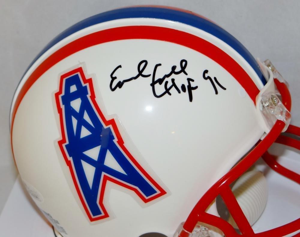 e1415092 Amazon.com: Earl Campbell Signed Autograph Houston Oilers 81-96 Tb Mini  Helmet Hof- JSA Certified: Sports Collectibles