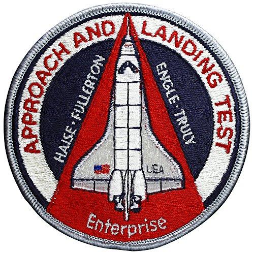 Vintage - Alt - Approach and Landing Test Enterprise Nasa Sts Shuttle Patch Ab