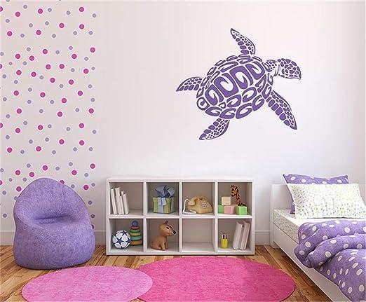 pegatinas de pared 3d Cartel de la pared de la tortuga ...