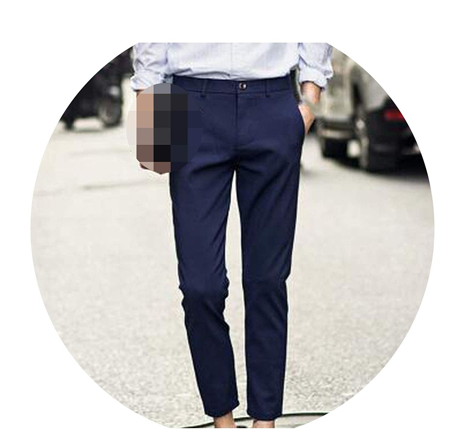 9fbd7467cefdf Navy Men New British Style Gentleman Trousers Favourite Suit ...
