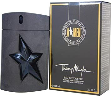 d65267420 Thiery Muglar Angel Men Pure Leather for Men -100 ml, Eau de Toilette,