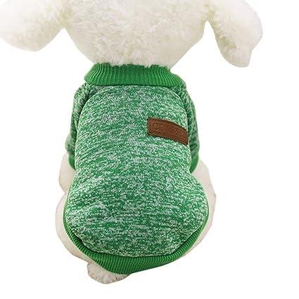 Review Wakeu Pet Supplies Pet Clothes for Small Dog Girl Dog Boy Soft Warm Fleece Clothing Winter