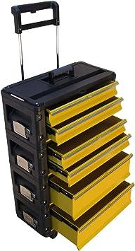 ASS Profi - Caja de herramientas con ruedas (metal, tamaño XL ...