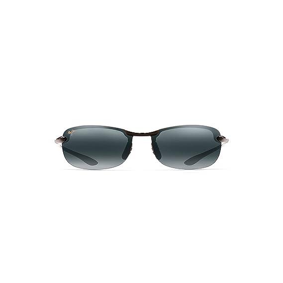 3de17eefdb2 Maui Jim Makaha Sunglasses - Black Frame - Neutral Grey +2.00 Add Lens   Amazon.co.uk  Clothing