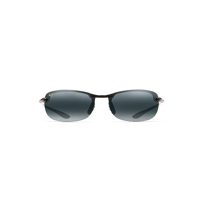 f03e40ff162 Maui Jim - Makaha Readers - Gloss Black Frame-+2.00 Neutral Grey Polarized  Lenses