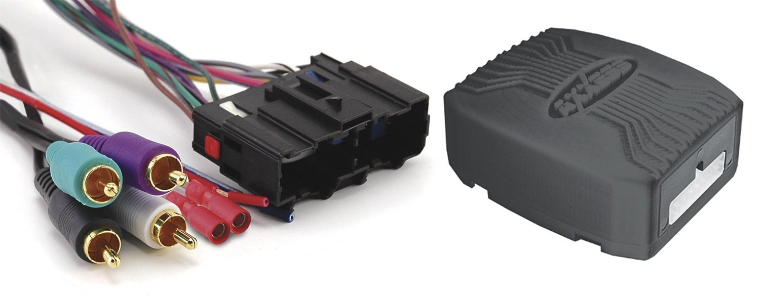 Axxess GMOS-LAN-02 GM/LAN Amplified Integrated Harness 2006-Up Select GM/Chevrolet Vehicles