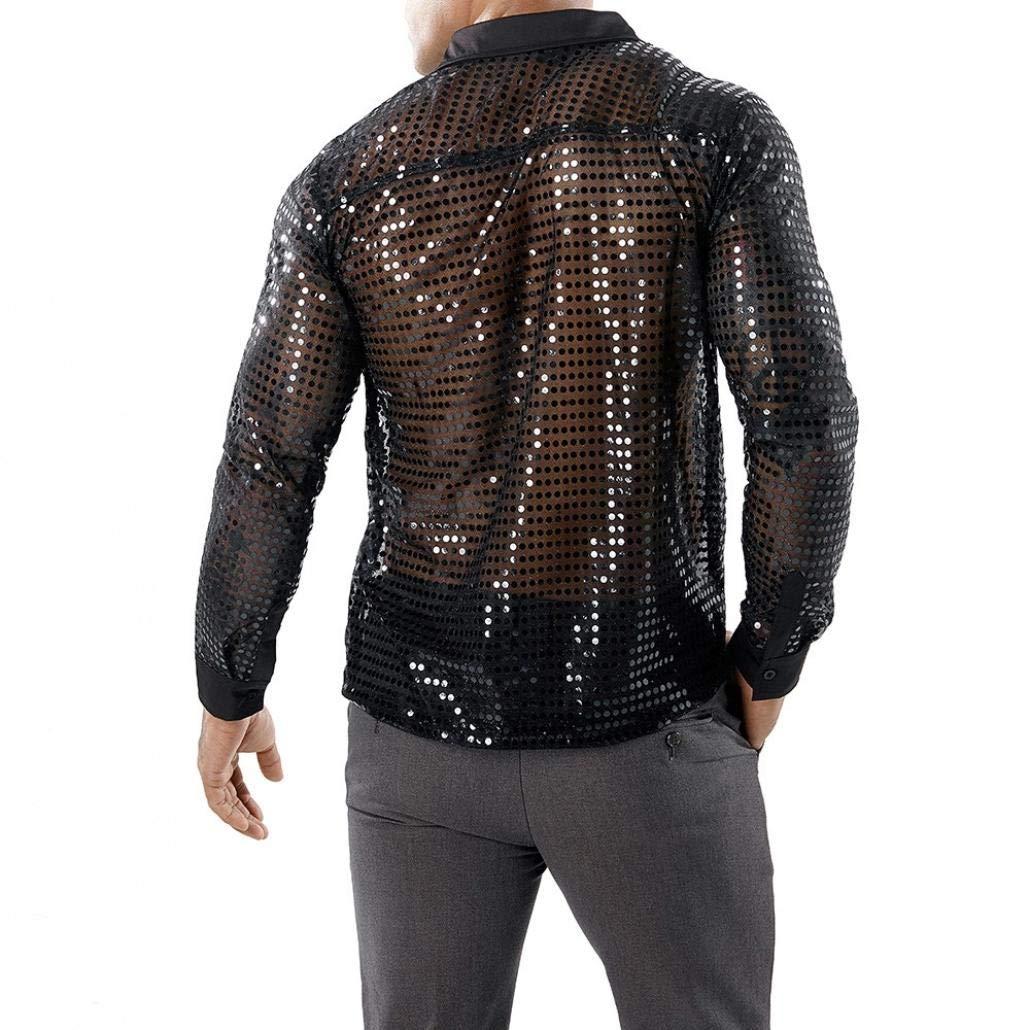 Camicia Miscela di Cotone Casual per Uomo ASHOP Uomo Camicia Basic con Maniche Lunghe Camicia Uomo Eleganti
