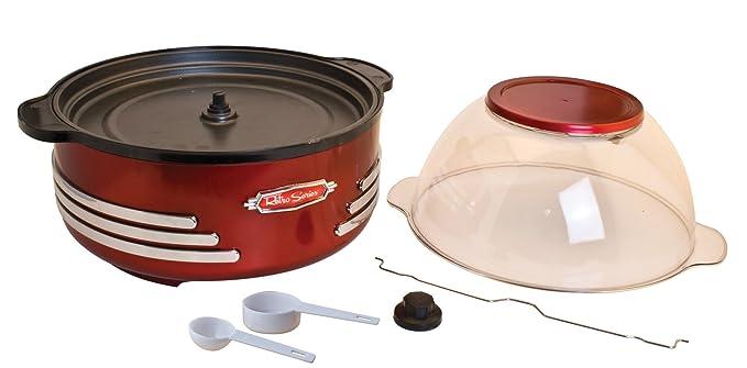 Nostalgia Electrics - Palomitero Nostalgia SP300 Retro Red: Amazon.es: Hogar