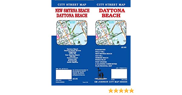 Daytona Beach FL Street Map: 9781897152249: Amazon.com: Books on