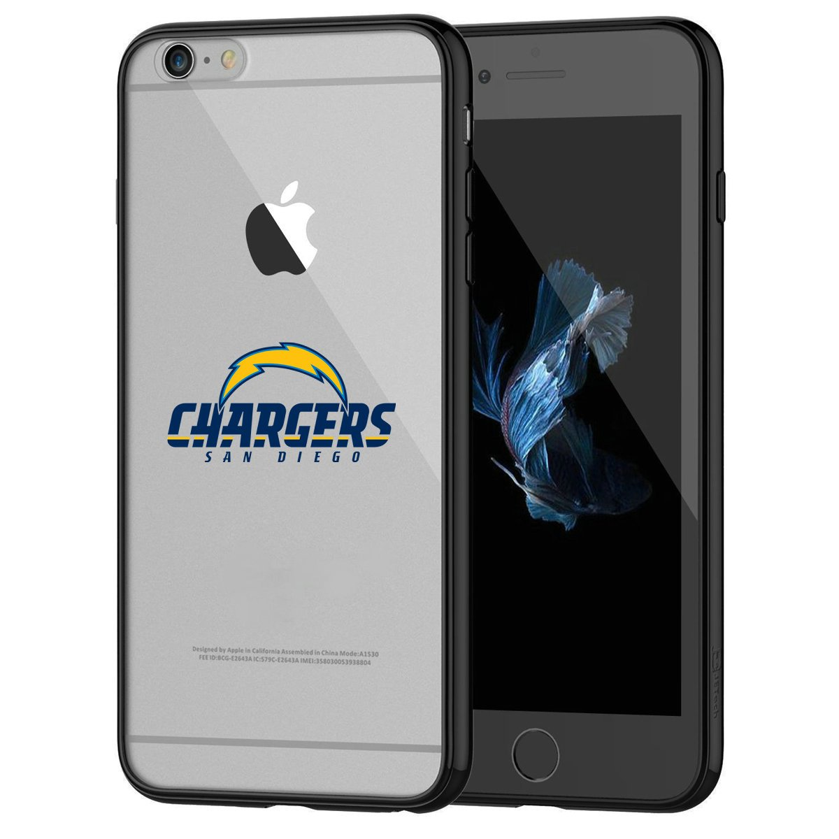 iPhone 6s Tough Case, Shock Absorption TPU + Translucent Frosted Anti-Scratch Hard Backplate Back Cover for iPhone 6 / 6s - Black 49ers iPhone 6s Tough Case DesignerCases