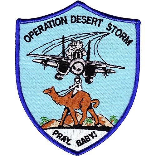 F-14 Tomcat Operation Desert Storm Patch Pray Baby