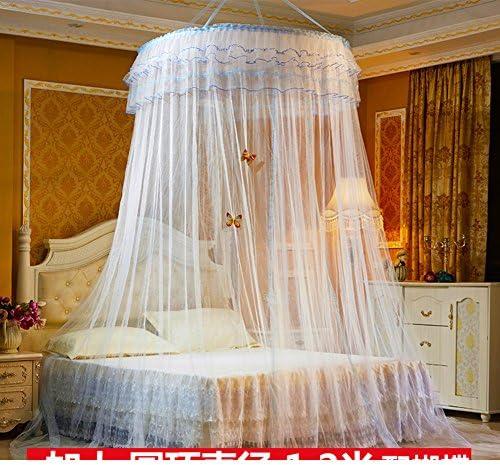 Extra LargeサイズラウンドフープベッドキャノピーネッティングMosquito NetフィットCrib、ツイン、フル、クイーン、キング 150x200cm(59x79inch) ENDOSHDOG
