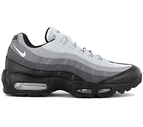 67a79df4ba83 Nike Air Max 95 Essential Men Black Dark Grey Cool Grey White 749766 ...